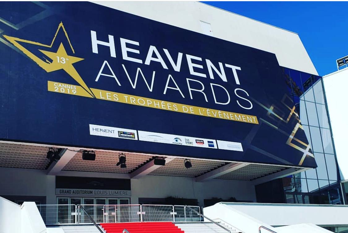 Artheau Aviation aux Heavent Awards à Cannes