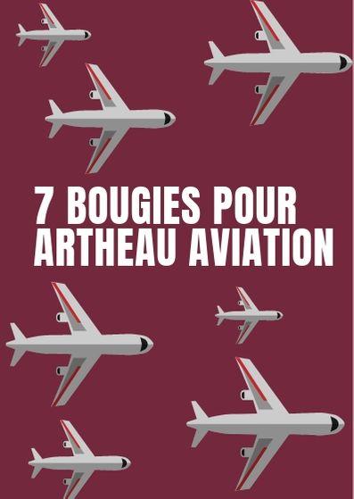 7 bougies pour Artheau Aviation