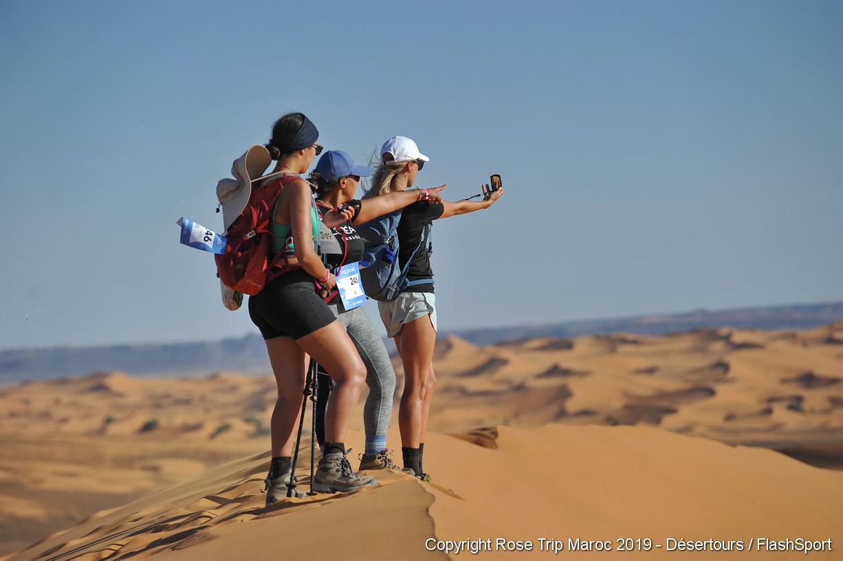 """Artheau Aviation présent pour la 2ème édition du trek Rose Trip Maroc, """"à l'assaut du désert marocain""""!"""