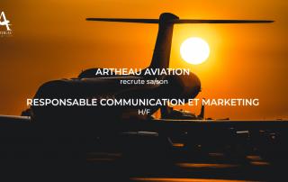 Recrutement responsable communication marketing