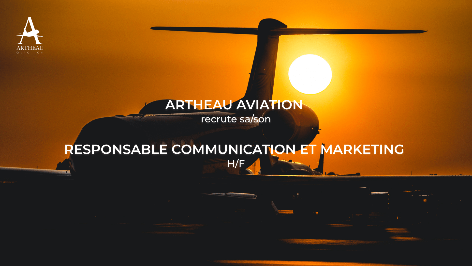 Artheau Aviation cherche sa/son futur Responsable Communication et Marketing (H/F)