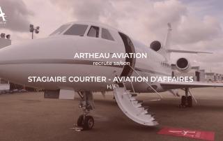 Stage Courtier Aviation d'Affaires Artheau Aviation