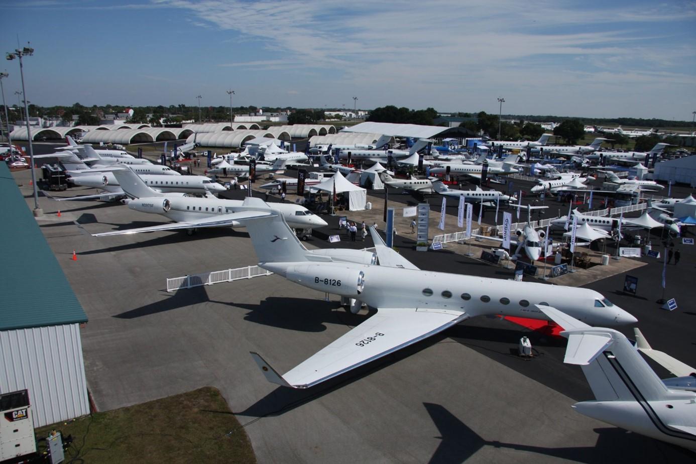 A Las Vegas, l'aviation d'affaires célèbre son retour sur le devant de la scène !